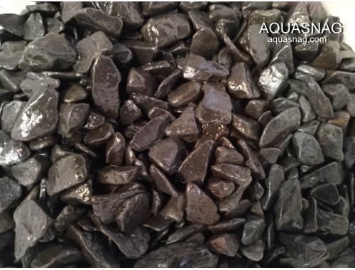 Фото Грунт черный обкатанный, фракция 10мм-30мм Купить