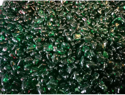 Фото Грунт цветной, зеленый фракция 5мм Смотреть