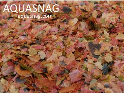Фото Хлопья  Микс- 250гр,  корм  наивысшего качества,  улучшенного состава aquasnag.com