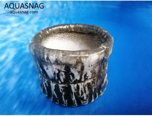 Фото Керамический горшочек круглый №2, d-9см, h-6см Купить