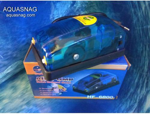 Фото Компрессор Happy Fish HF-6800, 4.5l/min, 8W Купить