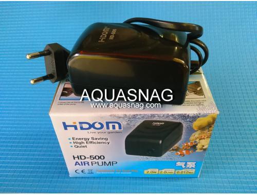 Фото Компрессор HIDOM HD-500, 2л/мин, 2Вт, 0.012Мра Смотреть