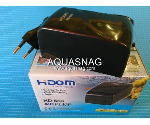 Компрессор HIDOM HD-550, 2.4л/мин, 2.5Вт, 0.014Мра