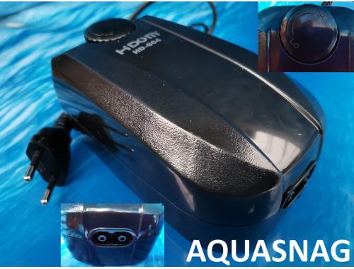 Фото Компрессор Hidom HD-604 (4.5Вт, 5.4L/min, 0.020Мра) 2-х канальн. плавная регулировка(60л-500л) Купить