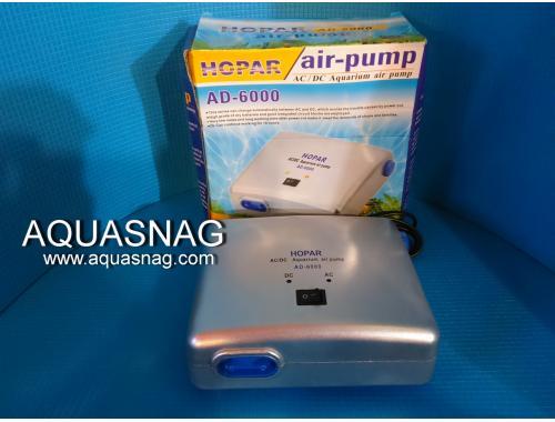 Фото Компрессор на аккумуляторе HOPAR AD-6000// 10W//5L/min//0.012Mpa aquasnag.com
