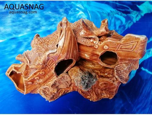 Фото Кораблики на скале,  дл 20см, шир 12см, выс 13см aquasnag.com