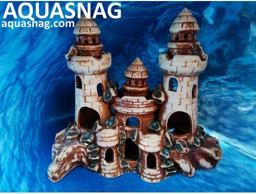 Фото Крепость большая,  дл 30см, шир 12см, выс 27см, коричневая Купить