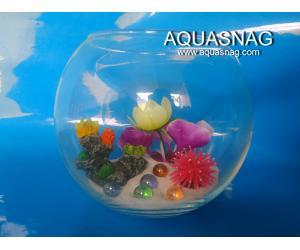 Круглый аквариум 3л