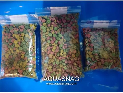 Фото Микс в таблетках -250г, витаминизированный корм для рыб,  ТМ Золотая Рыбка Купить