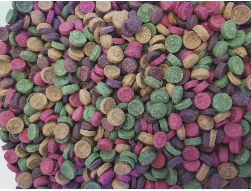 Фото Микс в таблетках -500г, витаминизированный корм для рыб, ТМ Золотая Рыбка aquasnag.com