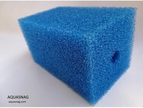 Фото Мочалка синяя (8*8*14)см, среднепористая Купить