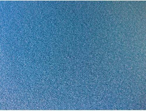 Фото Мочалка синяя, лист (45*45*2)см, крупнопористая Смотреть