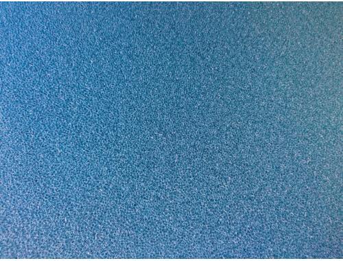 Фото Мочалка синяя, лист (45*45*4)см, среднепористая Смотреть