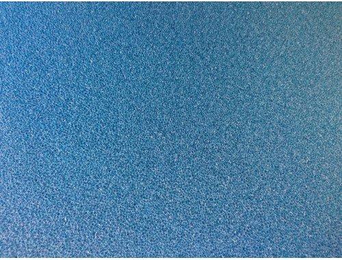 Фото Мочалка синяя, лист (49*49*10)см, среднепористая Смотреть