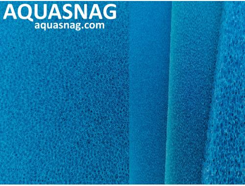 Фото Мочалка синяя, лист (49*49*2.5)см, мелкопористая Купить