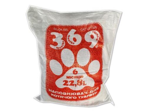 Фото Наполнитель для кошачьего туалета 369, 22.8л Купить