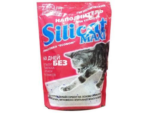 Фото Наполнитель для кошачьего туалета Silicat Maxi, 7.2л aquasnag.com