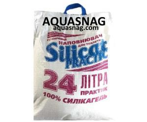 Наполнитель для кошачьего туалета Silicat PRACTIC (24 л)