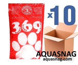 Наполнитель силикагелевый для кошачьего туалета 369, 3.6Lx10шт(36L)