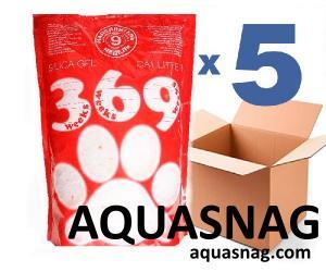 Наполнитель силикагелевый для кошачьего туалета 369, 7.2Lx5шт(36L)
