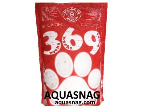 Фото Наполнитель силикагелевый для кошачьего туалета 369, 7.2л Смотреть
