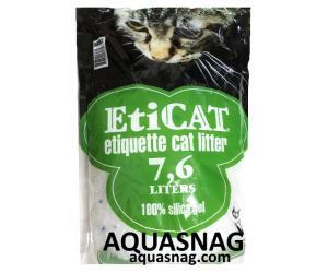 Наполнитель силикагелевый для кошачьего туалета Eticat 7.6 л