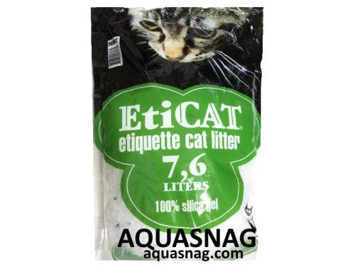 Фото Наполнитель силикагелевый для кошачьего туалета Eticat 7.6 л Купить