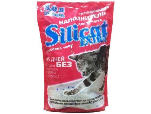 Фото Наполнитель силикагелевый для кошачьего туалета Silicat Extra, 5л Смотреть