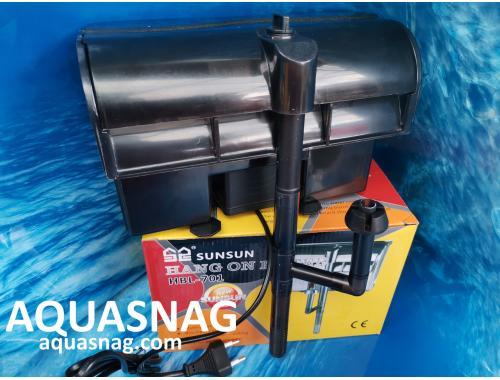 Фото Навесной аквариумный фильтр SUNSUN HBL - 701, от 50л  до 200л aquasnag.com