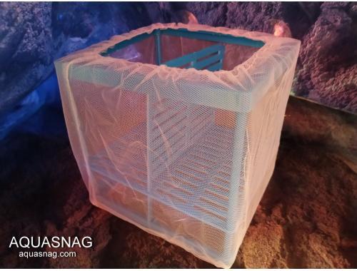 Фото Отсадник  для рыб (дл 16.5*ш15*в15.5)см, двухсекционный CHICOS FS-02 Купить