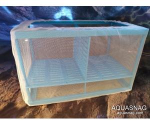 Отсадник  для рыб (дл 26.5*ш15*в15)см, двухсекционный CHICOS FL-02