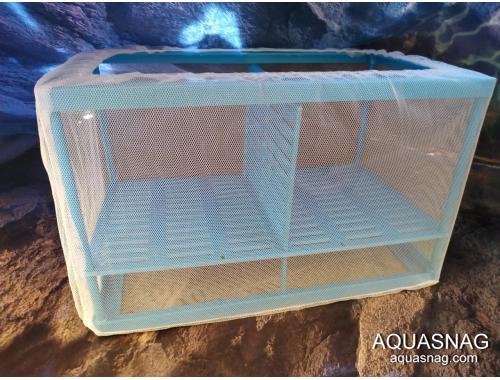 Фото Отсадник  для рыб (дл 26.5*ш15*в15)см, двухсекционный CHICOS FL-02 Купить