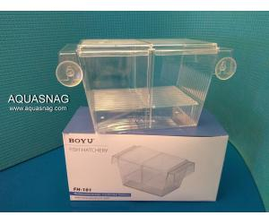 Отсадник с крышечкой для рыб (20.5*10.6*10)см, пластик, Boyu FH-101