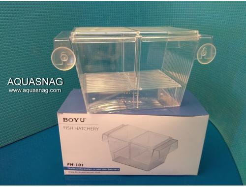 Фото Отсадник с крышечкой для рыб (20.5*10.6*10)см, пластик, Boyu FH-101 aquasnag.com