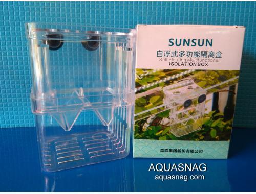 Фото Отсадник с крышечкой для рыб (8х7х11 )см, пластик, Sunsun SX - 13 Смотреть