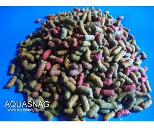 """Палочки """"Цихлида"""" крупные  250г, основной витаминизированный корм для всех видов цихловыхи других рыб"""