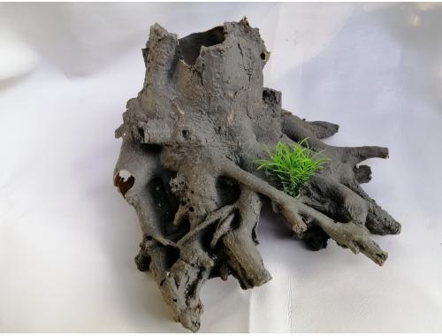 Фото Пень с корнями, дл 27см, шир 23см, выс 14см aquasnag.com