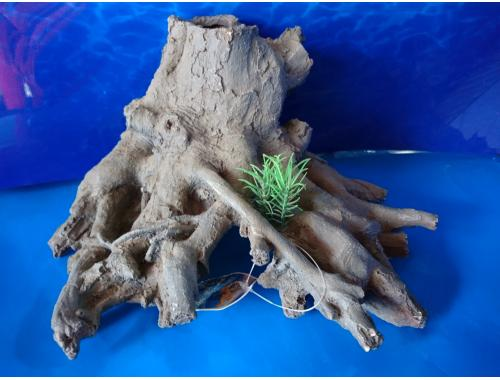 Фото Пень с корнями, дл 27см, шир 23см, выс 14см Купить
