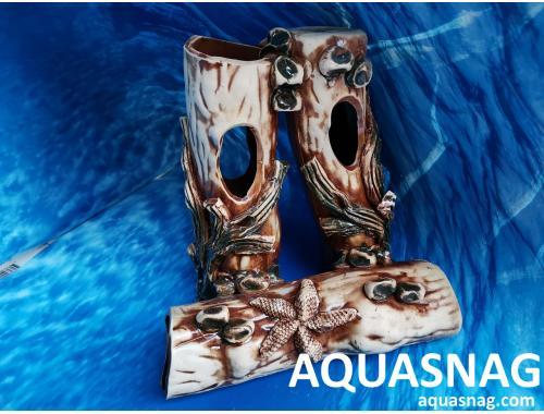 Фото Пень с корягами,  дл 23см, шир 15см, выс 23см aquasnag.com