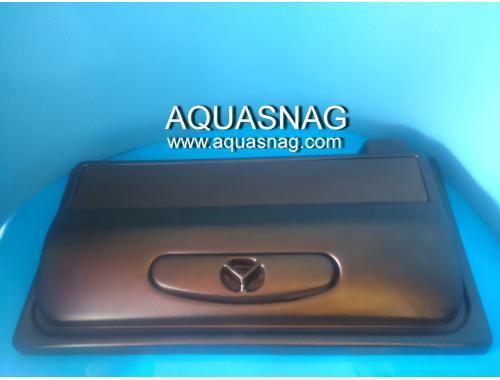 Фото Пластиковая крышка AQUASNAG прямая (70*30)см, 1*15Вт Купить