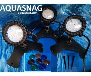 Подсветка подводная для пруда SunSun CLD-302, 3шт, LED 1.2W