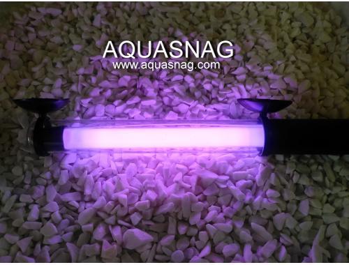 Фото Подводная лампа 50см розовая Смотреть
