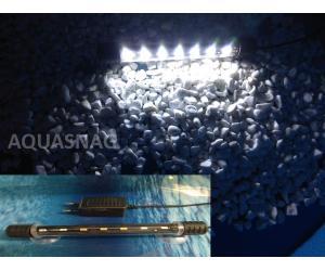 Подводная светодиодная лампа 28.5см, белая, 30LED