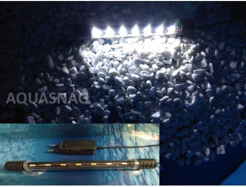 Фото Подводная светодиодная лампа 28.5см, белая, 30LED aquasnag.com