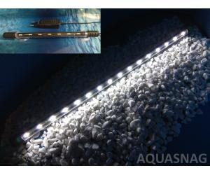 Подводная светодиодная лампа 38.5см, белая, 40 LED