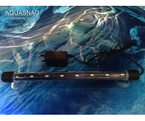 Подводная светодиодная  лампа 80 LED,  розовая