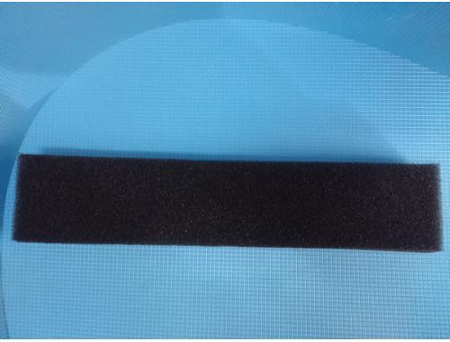 Фото Полоска  крупнопористой черной мочалки  Professional (дл49*ш10*тол5)см. Смотреть