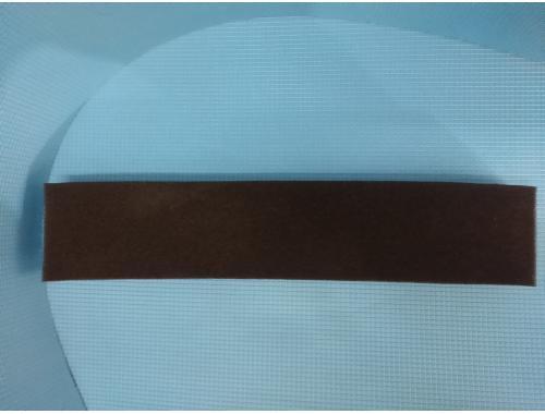 Фото Полоска  мелкопористой черной мочалки Professional (дл50*ш10*тол5)см. Смотреть
