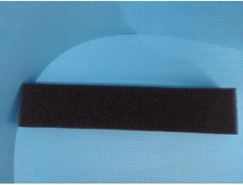 Фото Полоска  среднепористой черной мочалки  Professional (дл49*ш10*тол5)см. aquasnag.com