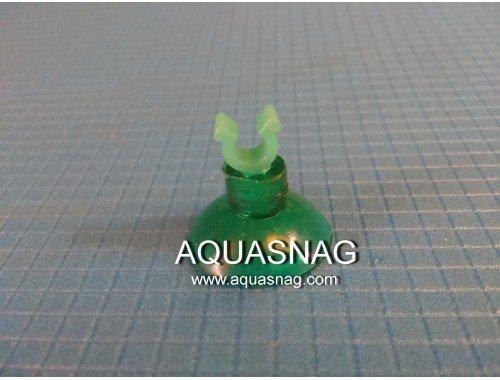 Фото Присоска для компрессорной трубки (внутренний диаметр кольца d=0,4см), зеленая Купить